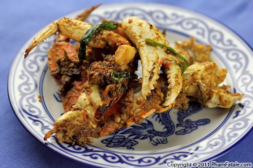 Cua Rang Muoi Vietnamese Salted Crab Recipe Pham Fatale