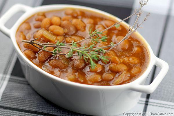 Homemade Baked Beans Pham Fatale