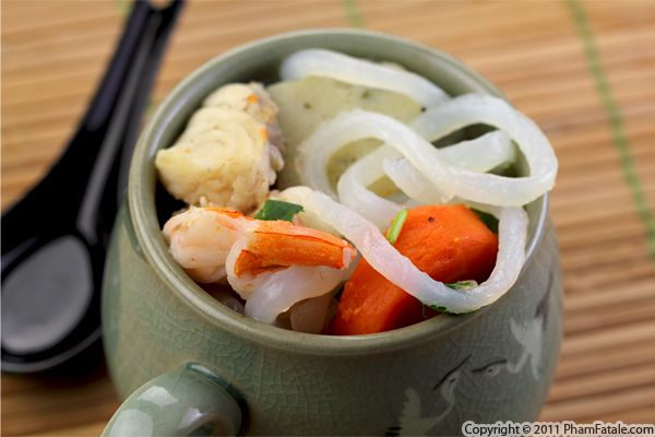 Banh Canh Recipe Vietnamese Shrimp Broth With Udon Noodles Pham
