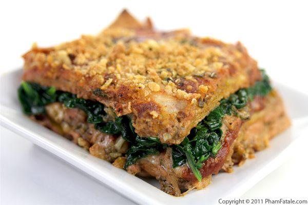 Quick And Easy Vegetarian Lasagna Recipe
