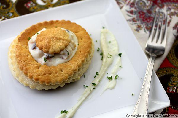 Bouchee A La Reine Recipe Vol Au Vent Pastry Recipe Pham Fatale